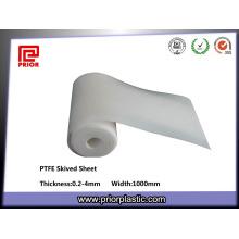 Сделано в Китае skived лист PTFE тефлона