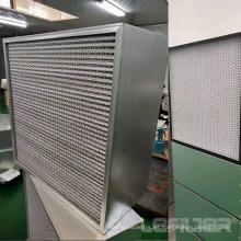 Separador de eficiencia de Mpps Filtro de aire HEPA