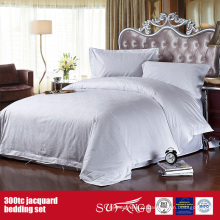 300TC Jacquard Wholesale Bedding Set Hotel Fine Duvet Cover