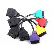 para FIAT ECU exploración adaptadores OBD diagnóstico Cable 4colors