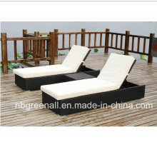 Открытый Rattan Chaise Lounge, Lounge Chair