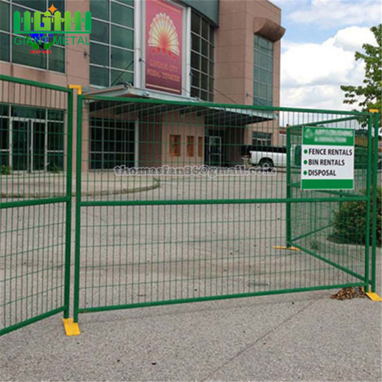 Powder+coated+colorful+welded+temporary+fence