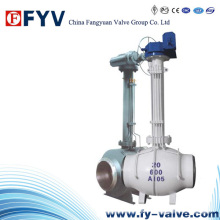 Elektrisch begrabenes Long Arm Fixed Ball Valve