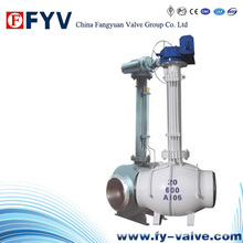 Electric Buried Long Arm Fixed Ball Valve