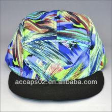 Custom floral 5 painel de chapéu