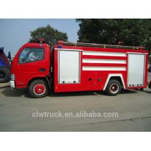 Caminhão quente da luta da venda 2014, especificações do caminhão de fogo de 3 toneladas