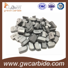 Yg6X Tungsten Carbide Brazed Tips for Screw Turing Tool