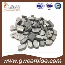 Pontas soldadas do carboneto de tungstênio Yg6X para a ferramenta de Turing do parafuso