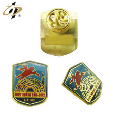 Home decoration zinc alloy metal epoxy cloisonne badge in custom