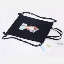 bolsa de mochila de lona de estudiantes para regalo