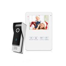 China Manufacturer 4 Wire Door Entry Video Intercom System For Villa Door Bell Camera