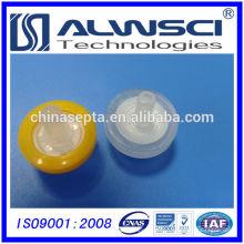 Filtros de jeringa de 13 mm Hidrofílico PTFE 0.22um tamaño de poro de China fábrica