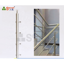 Inox Stainless Steel Balusters support Post  railing handrail column pipe jointer