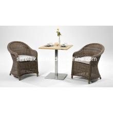 Сад Открытый ротанга патио плетеная мебель для отдыха набор