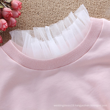 Winer Hot Sale Fashion Ladies Korea Style Decoration Lace Flower ruffled high collar Detachable Collar