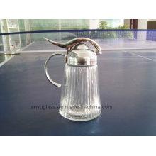 Garrafas de vidro para condimento, sal, especiarias, recipiente de armazenamento, recipiente de condimento