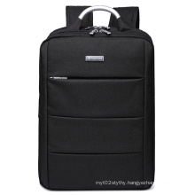 Padded Laptop Compartment with iPad/Tablet / Ereader Pocket in Black Laptop Backpack