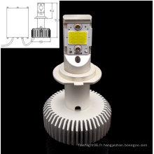 H7 COB 30W Blanc AC/DC8-28V Lumière de voiture LED remplaçable