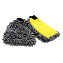 microfiber car wash cleaning gloves mitt