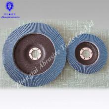 Disco de aleta azul zirconia super alta calidad
