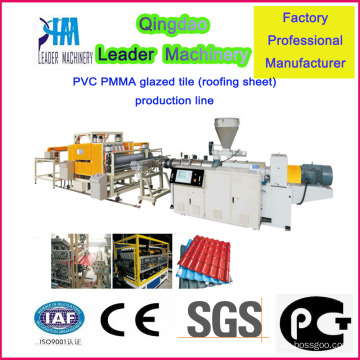 Heißverkaufte Korrosionsbeständigkeit Kunststoff-Dachziegel-Produktionsmaschine