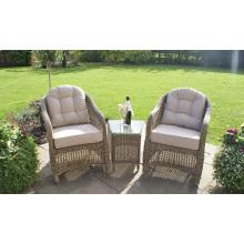 Cadeira da mobília ao ar livre do Rattan lazer pátio conjunto jardim
