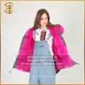 2017 Горячая продажа дешевого зимнего пальто Real Fox Fur Parka для женщин