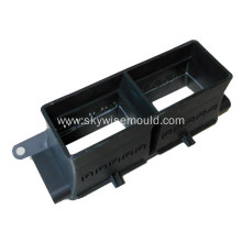 Plastic molding for automotive air vent