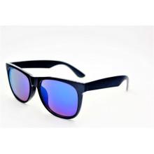 Klassische Weinlese-glänzende schwarze Art- und WeiseSonnenbrille-16310