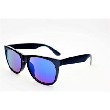 Классические винтажные блестящие черные модные солнцезащитные очки-16310