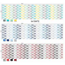 Venta al por mayor de diseño de moda pigmento impreso tela