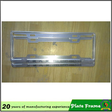 2016 USA Zinc Alloy License Plate Frame
