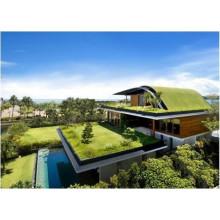Membrane d'imperméabilisation EPDM pour toiture de plantation verte