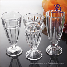 Footed Slim Glass Ice Cream Cup (GB1023H)