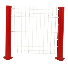 boundary wall security steel fence cheap vinyl fence
