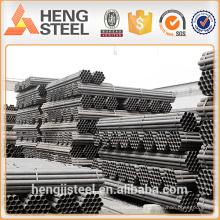 Schwarzes Eisenrohr Stahlrohr für Baustoffe