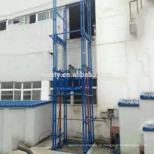 Elevador do elevador do trilho de guia de 20m 30tons, elevador do frete do elevador, elevador hidráulico vertical da carga