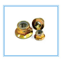 M3-M30 of Nylon Hex Flange Nut with Carbon Steel