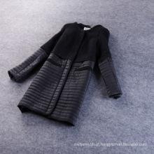 Casaco de inverno de moda de alta qualidade por atacado