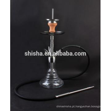 Top qualidade médio do cachimbo de água inox tronco fumar shisha