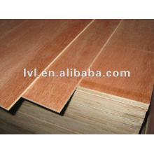 Plywood packing used with natural wood veneer