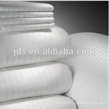 Tissu BLANC pour vêtements de lit d'hôtel