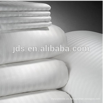 Tela blanca de algodón / poliéster