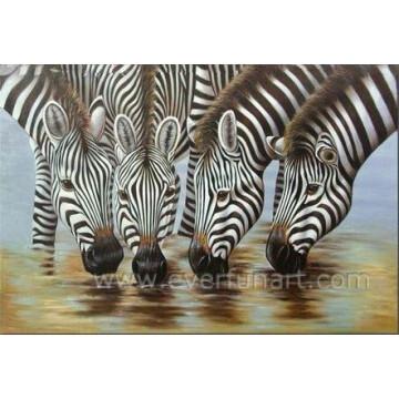 Горячая картина холст Art Zebra живопись