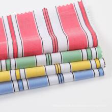 Bunter Garn gefärbter Baumwollhemd-Stoff für Frau