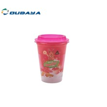 12oz plastic PP IML snacks cup