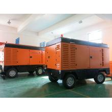 75KW diesel Portable air compressor atlas copco