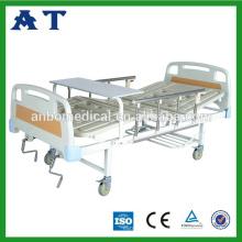 Lit d'hôpital électrique pour les personnes âgées
