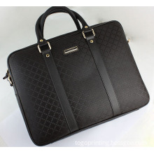 Cheap and Simple Leather Briefcase Suitable for Successful Man
