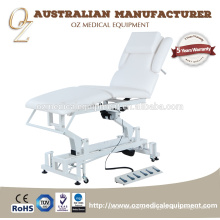 O CE aprova a tabela elétrica da massagem de Shiatsu da cama do tratamento da cadeira da reabilitação